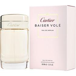 CARTIER BAISER VOLE by Cartier EDP SPRAY 3.3 OZ for WOMEN