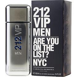 212 VIP by Carolina Herrera EDT SPRAY 3.4 OZ for MEN