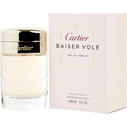 CARTIER BAISER VOLE by Cartier EDP SPRAY 1.6 OZ for WOMEN