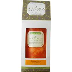 CLARITY AROMATHERAPY by CLARITY AROMATHERAPY ONE 2.75 X 5 inch PILLAR AROMATHERAPY CANDLE. COMBINES THE ESSENTIAL OILS OF ORANGE & CEDAR. BURNS APPROX. 70 HRS. for UNISEX