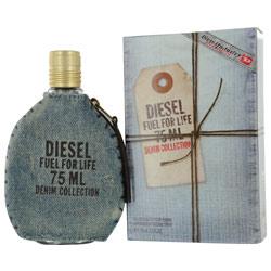 DIESEL FUEL FOR LIFE DENIM by Diesel EDT SPRAY 2.5 OZ for MEN $ 61.19