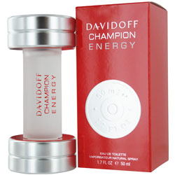 DAVIDOFF CHAMPION ENERGY by Davidoff EDT SPRAY 1.7 OZ for MEN 218001