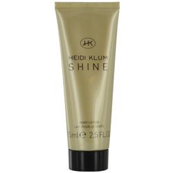 HEIDI KLUM SHINE by Heidi Klum BODY LOTION 2.5 OZ for WOMEN 218695