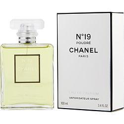 CHANEL NO. 19 POUDRE by Chanel EAU DE PARFUM SPRAY 3.4 OZ for WOMEN