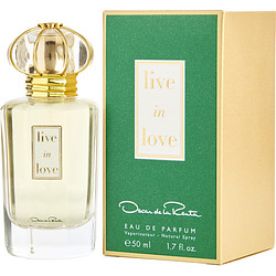 OSCAR DE LA RENTA LIVE IN LOVE by Oscar de la Renta EAU DE PARFUM SPRAY 1.7 OZ for WOMEN