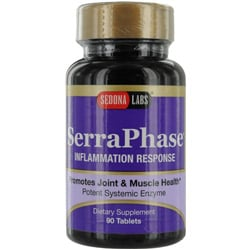 Sedona Labs  SerraPhase Inflammation Response Promotes Joint & Muscle Health-- Dietary Supplement 90 Tablets for UNISEX