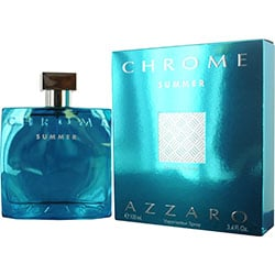CHROME SUMMER by Azzaro EDT SPRAY 3.4 OZ (LIMITED EDITION 2012) for MEN