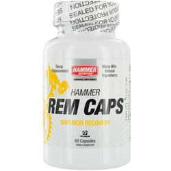 Hammer Nutrition  REM Caps- All Natural Sleep Aid- Dietary Supplement 60 capsules for UNISEX