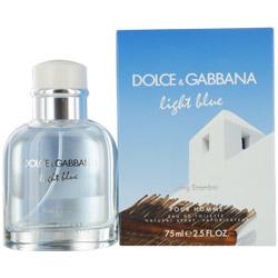 D & G LIGHT BLUE LIVING STROMBOLI POUR HOMME by Dolce & Gabbana EDT SPRAY 2.5 OZ for MEN