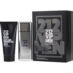 212 Vip By Carolina Herrera Set-Edt Spray 3.4 Oz & Shower Gel 3.4 Oz For Men