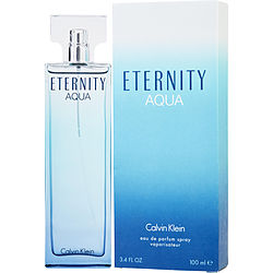ETERNITY AQUA by Calvin Klein EDP SPRAY 3.4 OZ for WOMEN