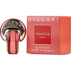 BVLGARI OMNIA CORAL by Bvlgari EDT .17 OZ MINI for WOMEN