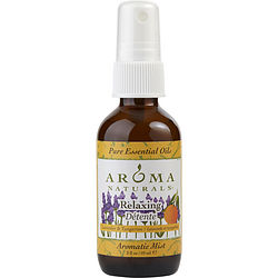 RELAXING AROMATHERAPY by Relaxing Aromatherapy AROMATIC MIST SPRAY 2 OZ. COMBINES THE ESSENTIAL OILS OF LAVENDER AND TANGERINE TO CREATE A FRAGRANCE THAT REDUCES STRESS. for UNISEX
