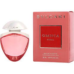 BVLGARI OMNIA CORAL by Bvlgari EDT SPRAY .85 OZ & SATIN POUCH for WOMEN