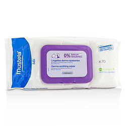 Mustela  Dermo-Soothing Wipes - Fragrance Free --70wipes for WOMEN