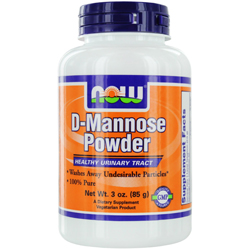 NOW Foods by Now D-Mannose Powder Healthy Urinary Tract 3 oz for UNISEX