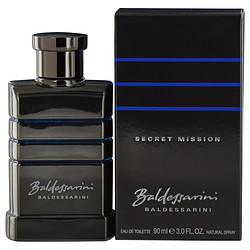 BALDESSARINI SECRET MISSION by Hugo Boss EDT SPRAY 3 OZ for MEN