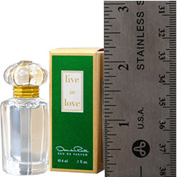 OSCAR DE LA RENTA LIVE IN LOVE by Oscar de la Renta EAU DE PARFUM .13 OZ MINI for WOMEN