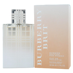 BURBERRY BRIT SUMMER by Burberry EDT SPRAY 1.7 OZ (EDITION 2012) for WOMEN