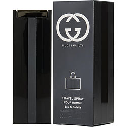 GUCCI GUILTY POUR HOMME by Gucci EDT SPRAY 1 OZ (TRAVEL SPRAY) for MEN