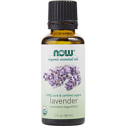 ESSENTIAL OILS NOW by NOW Essential Oils LAVENDER OIL 100% ORGANIC 1 OZ for UNISEX
