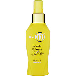 Its A 10 By It'S A 10 Miracle Leave In Product For Blondes 4 Oz For Unisex