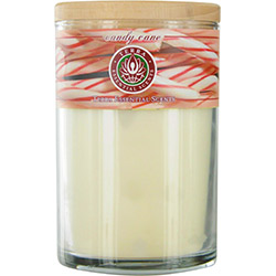 CANDY CANE SOY CANDLE 12 OZ TUMBLER. A SWEET & UPLIFTING BLEND OF PEPPERMINT OILS. BURNS APPROX. 30+ HOURS for UNISEX
