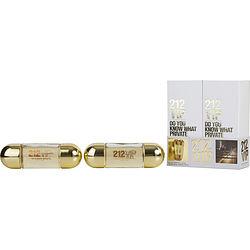 212 Vip By Carolina Herrera Set-Eau De Parfum Spray 1 Oz (Two Pieces) For Women