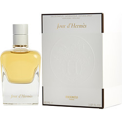 JOUR D'HERMES by Hermes EAU DE PARFUM SPRAY REFILLABLE 2.8 OZ for WOMEN Launched by the design house of Hermes in 2013, JOUR D'HERMES by Hermes for WOMEN posesses a blend of: Watery Notes, Lemon, Grapefruit, White Flowers, Green Notes, Sweet Pea, Gardenia, Woody Notes, Musk It is recommended for wear.