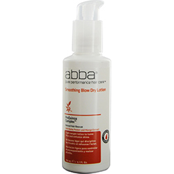 Abba By Abba Pure & Natural Hair Care Smoothing Blow Dry Lotion 5.1 Oz For Unisex