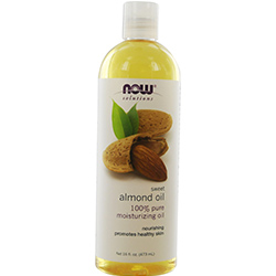 NOW Foods by Now Sweet Almond Oil 100 % Pure Moisturizing Oil 16 oz for UNISEX