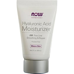 NOW Foods by Now Hyaluronic Acid Moisturizer AM Fine Line Smoothing & Repair--Mature Skin 2 OZ for UNISEX