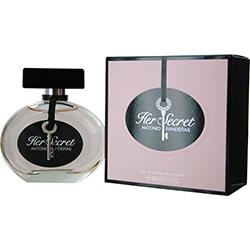 Her Secret By Antonio Banderas Edt Spray 2.7 Oz For Women