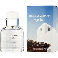 D & G LIGHT BLUE LIVING STROMBOLI POUR HOMME by Dolce & Gabbana EDT SPRAY 1.3 OZ for MEN