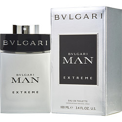 BVLGARI MAN EXTREME by Bvlgari EDT SPRAY 3.4 OZ for MEN