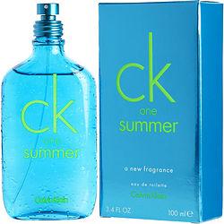 CK ONE SUMMER by Calvin Klein EDT SPRAY 3.4 OZ (LIMITED EDITION 2013) for UNISEX