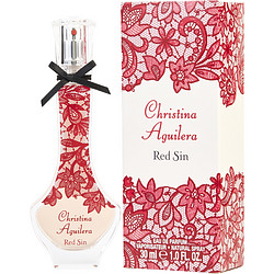 Christina Aguilera Red Sin By Christina Aguilera Eau De Parfum Spray 1 Oz For Women