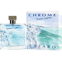 CHROME SUMMER by Azzaro EDT SPRAY 3.4 OZ (LIMITED EDITION 2013) for MEN