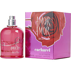 AMOR AMOR IN A FLASH by Cacharel EDT SPRAY 3.4 OZ for WOMEN