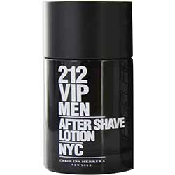 212 VIP by Carolina Herrera AFTERSHAVE 3.4 OZ for MEN