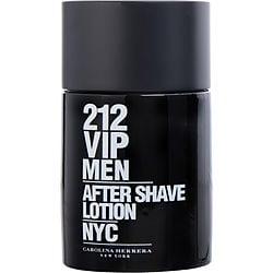 212 VIP by Carolina Herrera AFTERSHAVE 3.4 OZ for MEN
