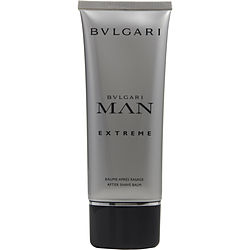 BVLGARI MAN EXTREME by Bvlgari AFTERSHAVE BALM 3.4 OZ for MEN