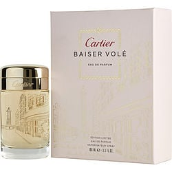 CARTIER BAISER VOLE by Cartier EDP SPRAY 3.3 OZ (LIMITED EDITION) for WOMEN