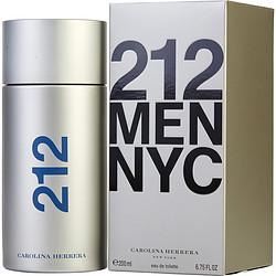212 by Carolina Herrera EDT SPRAY 6.7 OZ for MEN