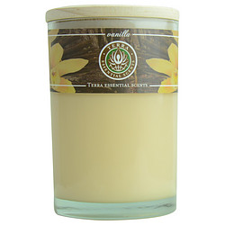 VANILLA MASSAGE & AROMATHERAPY SOY CANDLE 12 OZ TUMBLER. A COMFORTING & WELCOMING BLEND WITH TIGER EYE GEMSTONE. BURNS APPROX. 30+ HOURS for UNISEX