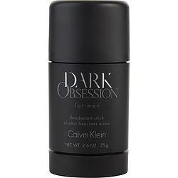 DARK OBSESSION by Calvin Klein DEODORANT STICK ALCOHOL FREE 2.6 OZ for MEN