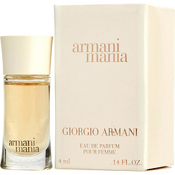 Armani Mania By Giorgio Armani Eau De Parfum .14 Oz (White Box) Mini For Women