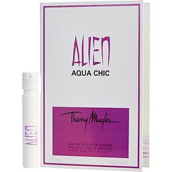 Alien Aqua Chic By Thierry Mugler Light Edt Spray Vial On Card For Women