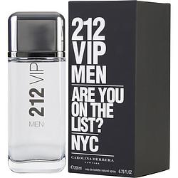 212 VIP by Carolina Herrera EDT SPRAY 6.8 OZ for MEN