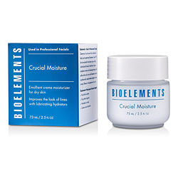 Bioelements by Bioelements Crucial Moisture (For Very Dry, Dry Skin Types) -/2.5OZ for WOMEN